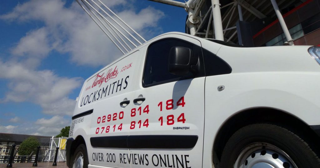 Locksmith Cardiff van